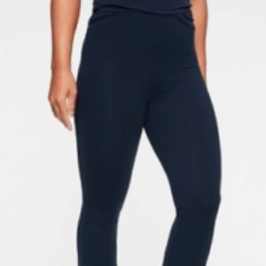Athleta Greenwich Flare Pants size S Navy